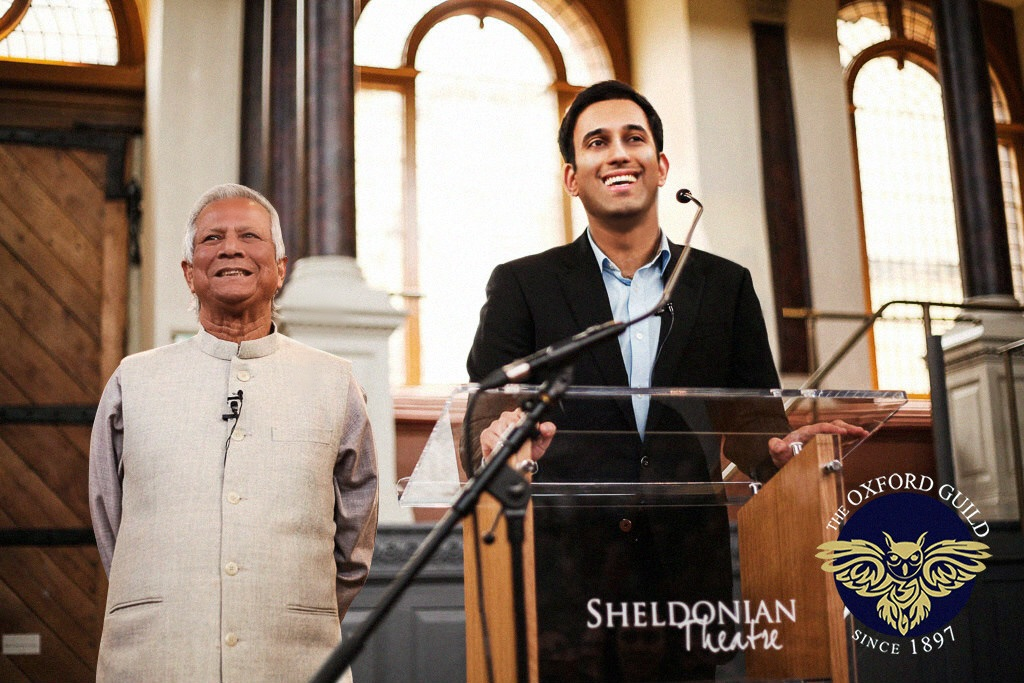 Professor Yunus and Abbas Kazmi
