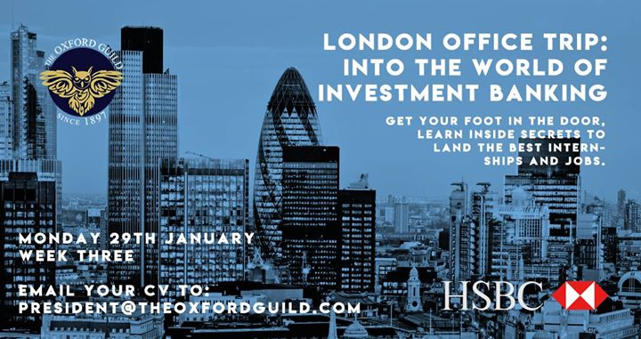 London Office Trip – Into the World of Investment Banking