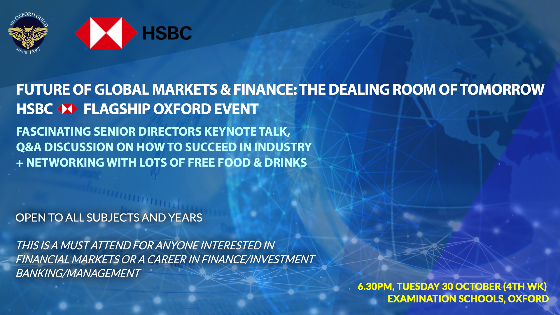 Future of Global Markets & Finance: HSBC Flagship Event – The